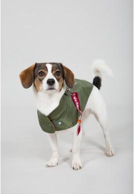 Dog MA-1 Nylon Flight Jacket SAGE GREEN