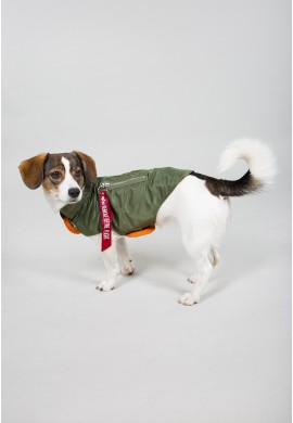 Dog MA-1 Nylon Flight Jacket SAGE GREEN