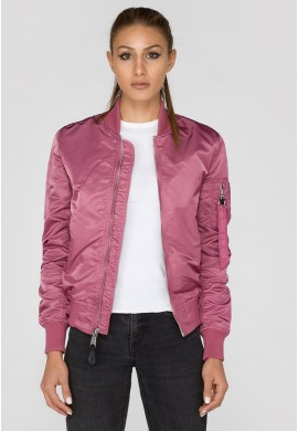 Dámská Bunda MA-1 VF LW Wmn. Alpha Industries DUSTY PINK