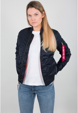 Dámská Bunda MA-1 VF 59 Wmn Alpha Industries REPL.BLUE