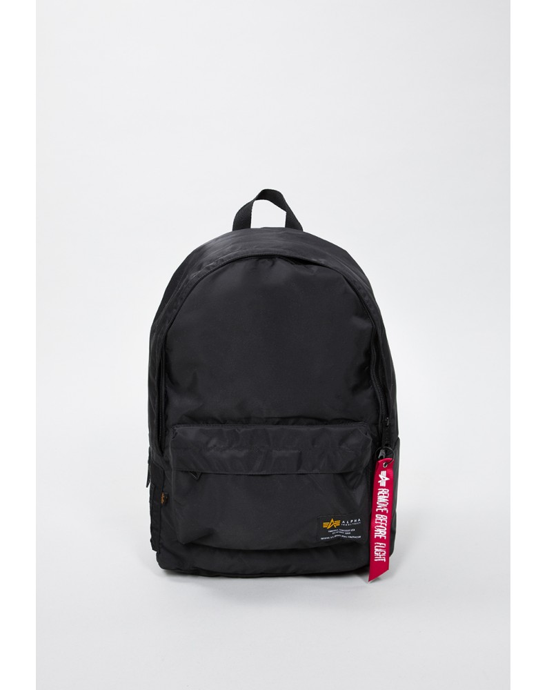 Batoh Crew Backpack black Alpha Industries
