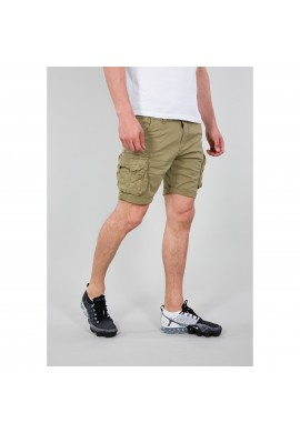 Kraťasy CREW Short Alpha Industries Light olive
