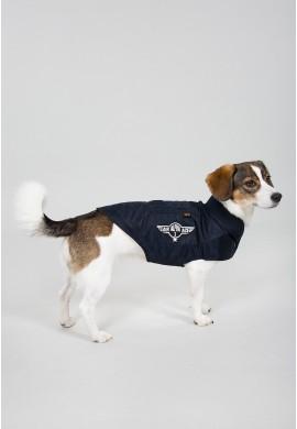 Dog MA-1 Nylon Flight Jacket Repl.blue