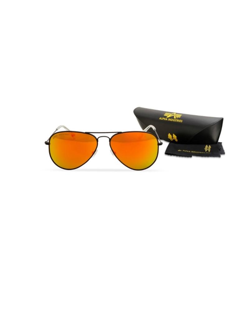 Sluneční brýle TOP GUN Alpha Industries BLACK/GOLD