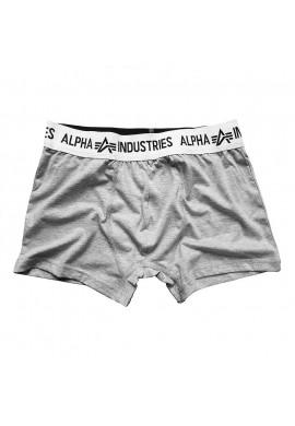 Spodní prádlo Alpha Industries Boxerky Boxer Trunk Greyheather