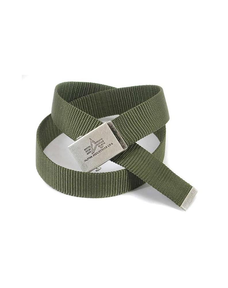Opasek Alpha Heavy Duty Belt 4 cm - Olive