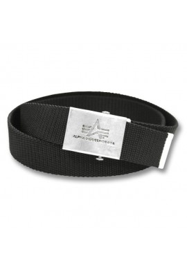 Opasek HEAVY DUTY BELT 4 CM Alpha Industries BLACK