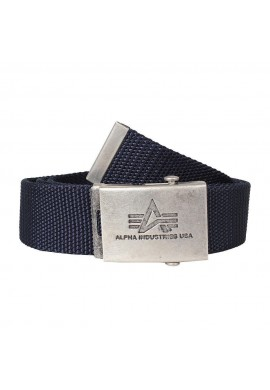 Opasek HEAVY DUTY BELT 4 CM Alpha Industries REPL.BLUE