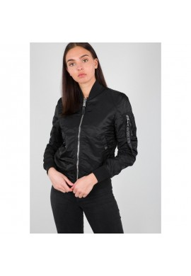 Bunda MA-1 VF LW Wmn Alpha Industries black chrone