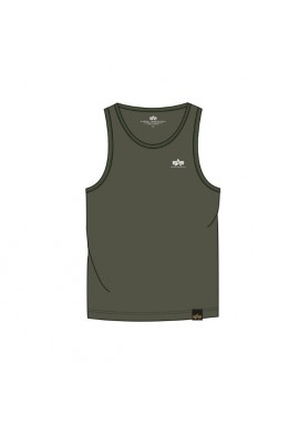 Tílko SMALL LOGO Tank Alpha Industries DARK OLIVE