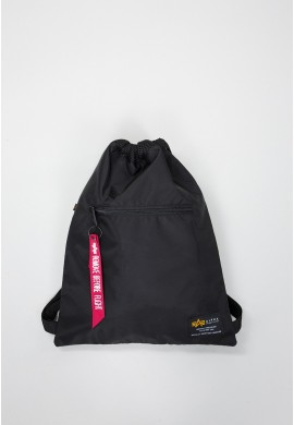 Batoh Crew Gym Bag Alpha Industries Black