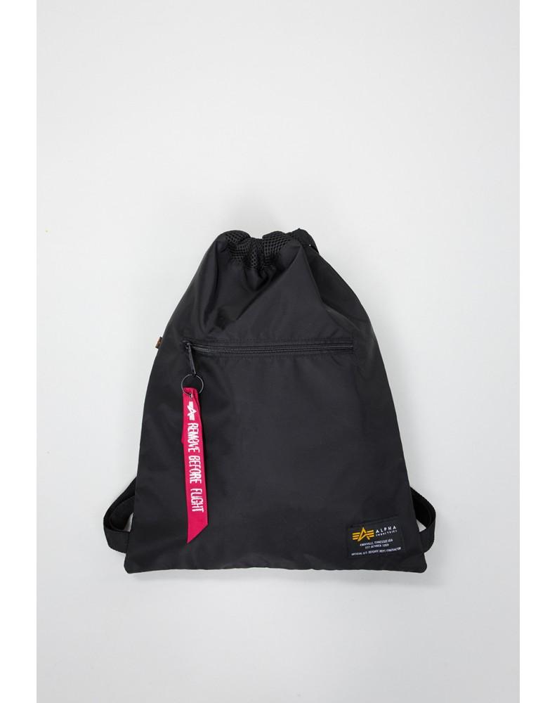 Batoh Crew Gym Bag Alpha Industries Black