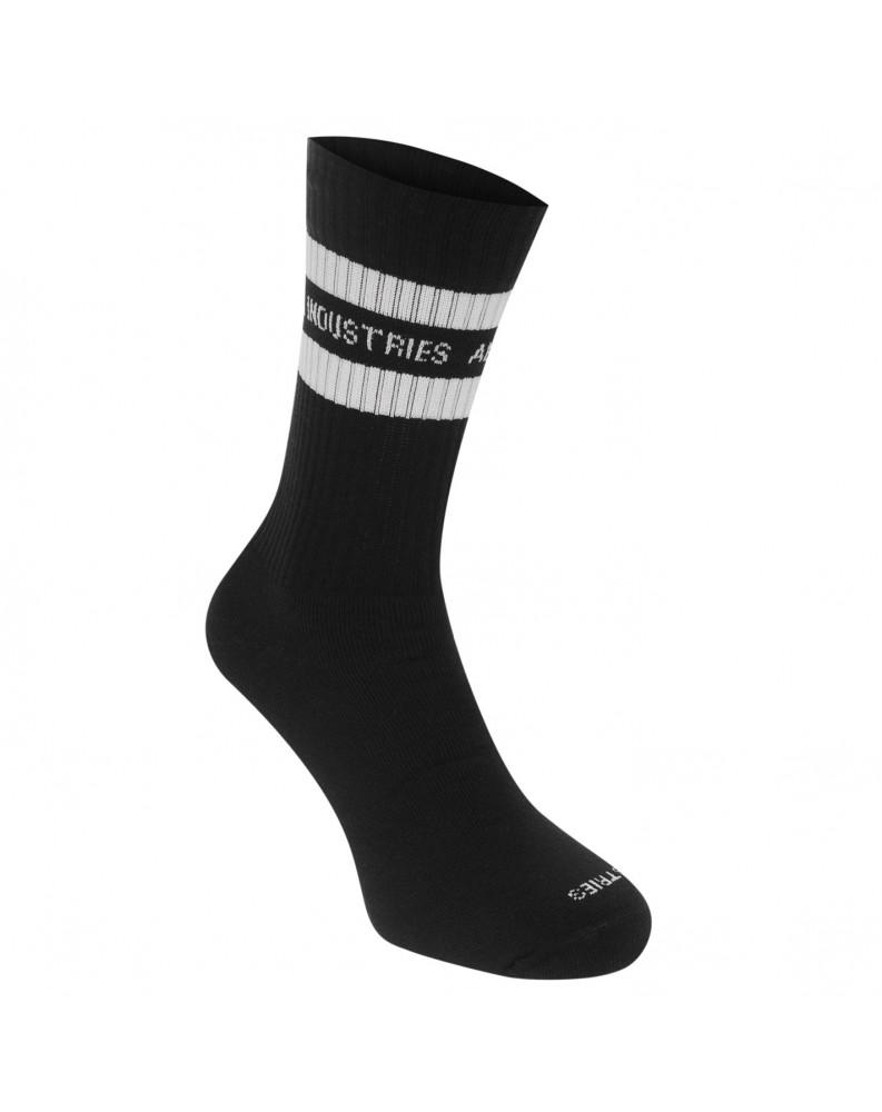 Ponožky Stripe, Alpha Industries Černé
