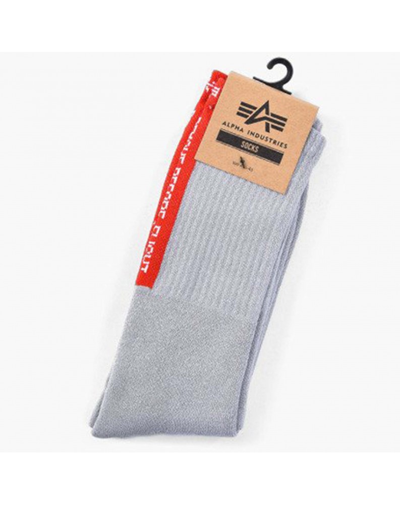 Ponožky RBF, Alpha Industries Greyheather