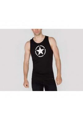 Tílko STAR TANK Alpha Industries BLACK
