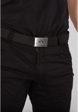 Pásek BIG A BELT Alpha Industries Black