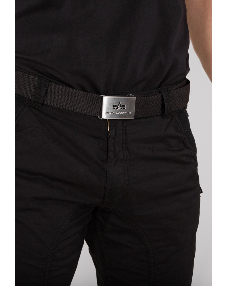 Pásek BIG A BELT Alpha Industries Black