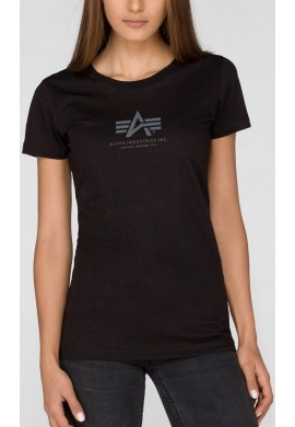 Dámské tričko BASIC T Wmn. Alpha Industries BLACK