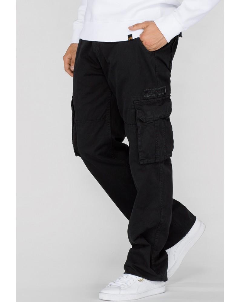 Kalhoty JET PANT Alpha IndustriesBLACK