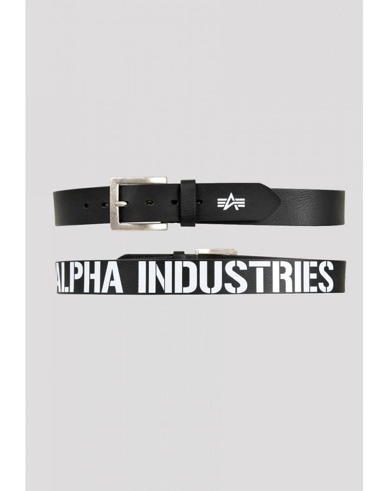 Opasek Printed Alpha Industries Black