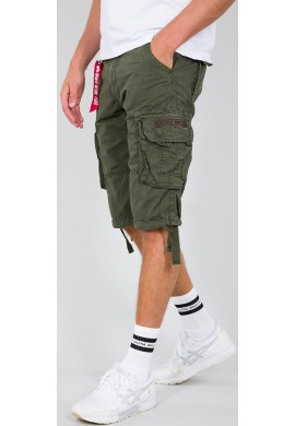 Kraťasy JET SHORT Alpha Industries  DARK OLIVE