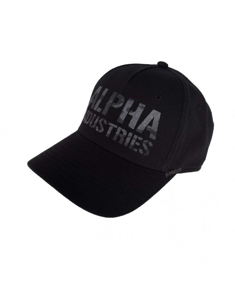 Čepice Camo Print Cap, Alpha Industries