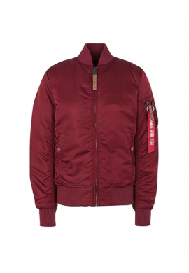 Bunda MA-1 VF 59 Wmn Alpha Industries Burgundy