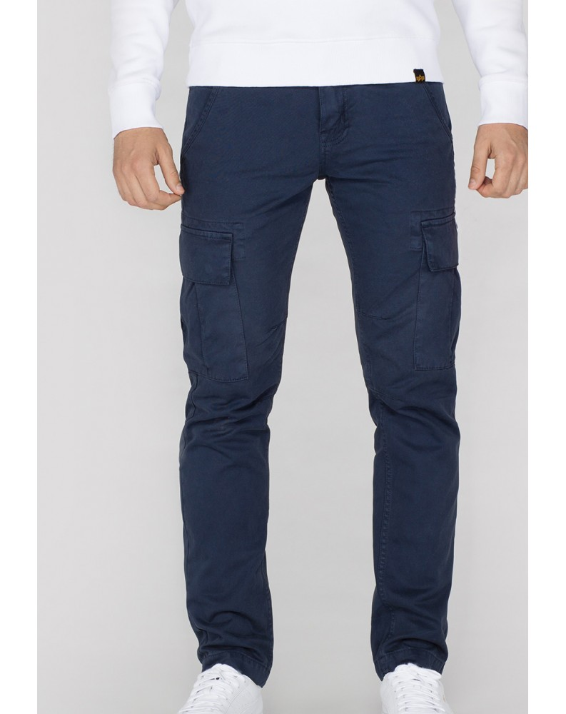 Kalhoty AGENT Alpha Industries, Repl. blue