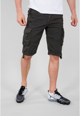 Kraťasy JET SHORT Alpha Industries Greyblack