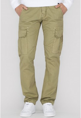 Kalhoty AGENT Alpha Industries, Light olive