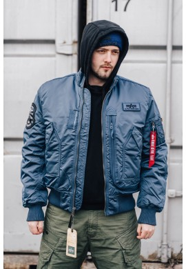 Bunda Engine Alpha Industries Bold blue