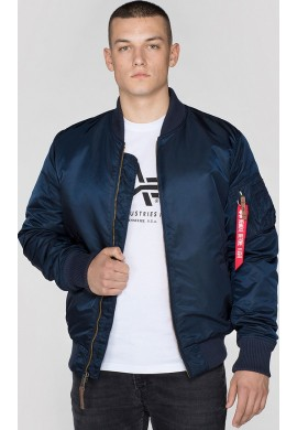 Bunda MA-1 VF 59 Alpha Industries Repl. blue