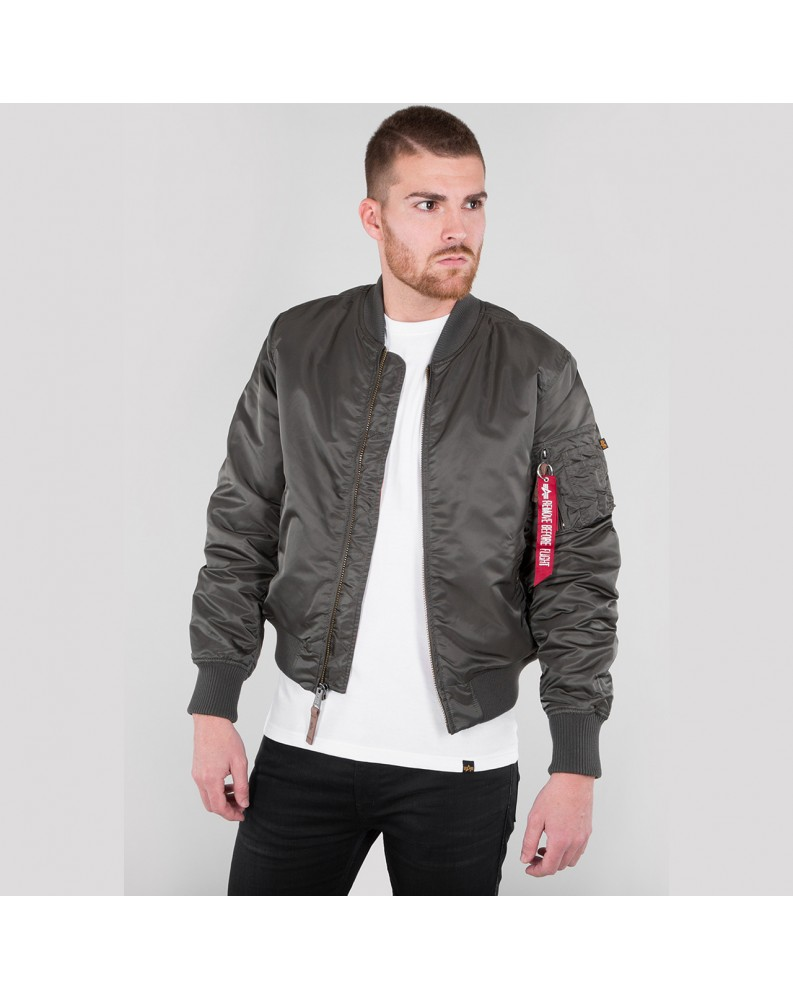 Bunda MA-1 VF 59 Alpha Industries Repl. grey