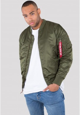 Bunda MA-1 VF 59 Long Alpha Industries dark green