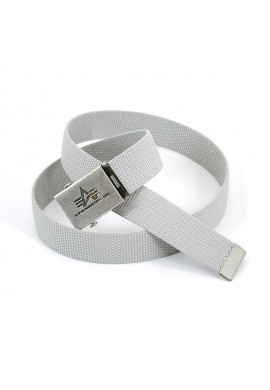 Pásek Heavy Duty Belt Alpha Industries Silver