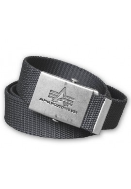 Opasek Heavy Duty Belt Alpha Industries Repl.grey