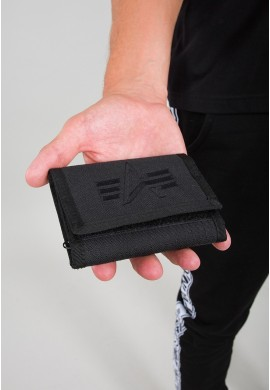 Peněženka Alpha Wallet Alpha Industries Black