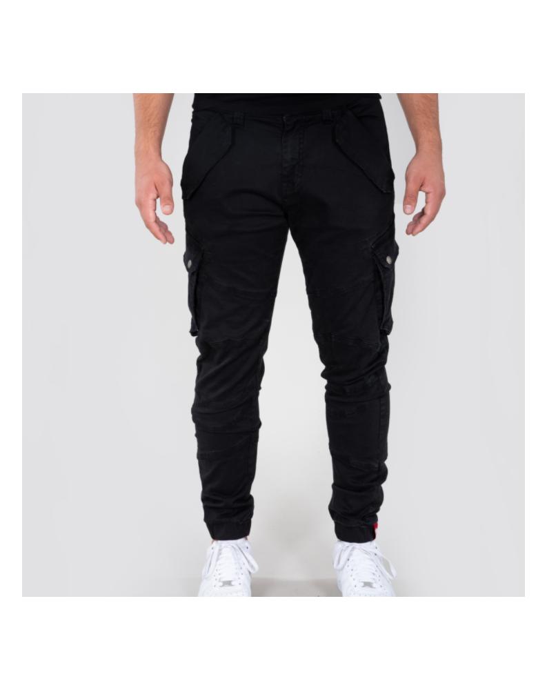Kalhoty COMBAT PANT LW Alpha Industries BLACK