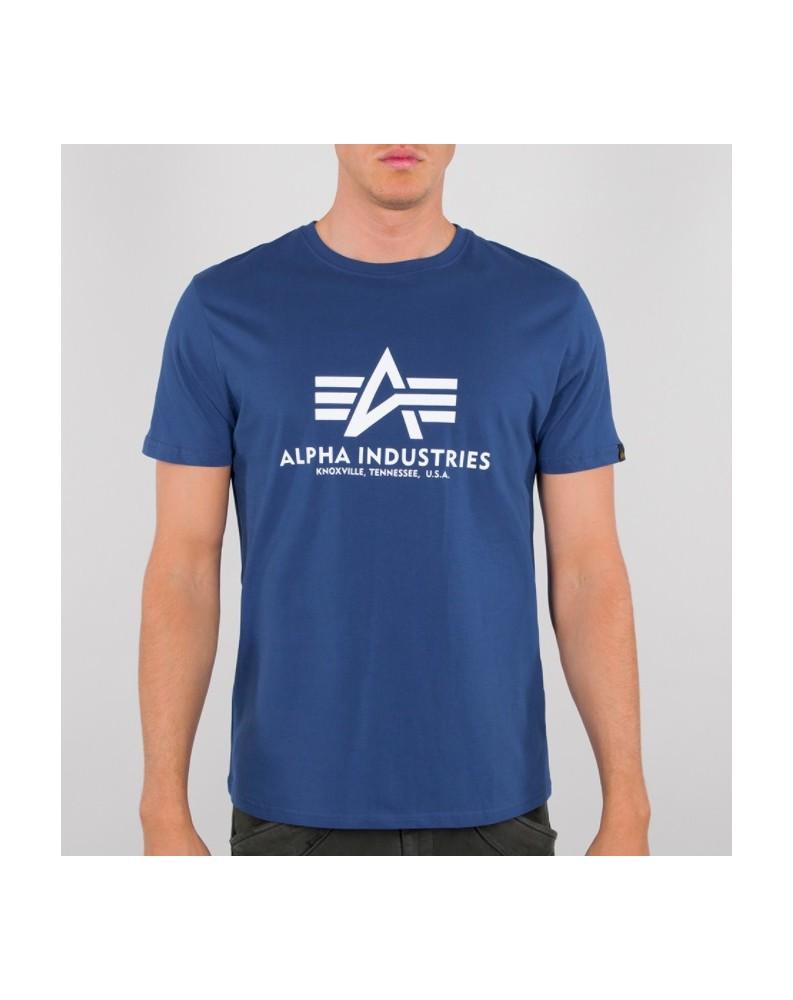 Tričko Basic T Alpha Industries NASA blue