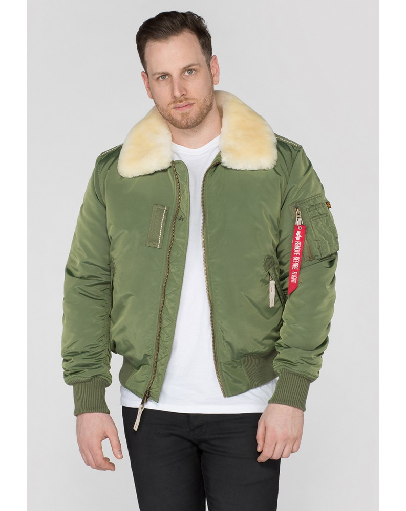 Bunda INJECTOR III Alpha Industries SAGE GREEN