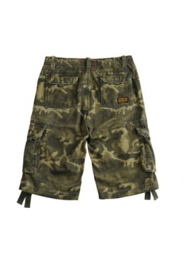 Kraťasy JET SHORT Alpha Industries W/L CAMO
