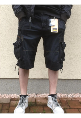 Kraťasy TERMINAL Short Alpha Industries Black