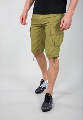 Kraťasy RIPSTOP Short Alpha Industries, KHAKI GREEN